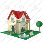 Casa de Lego modelo 3d