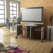 TV-rum 3d model