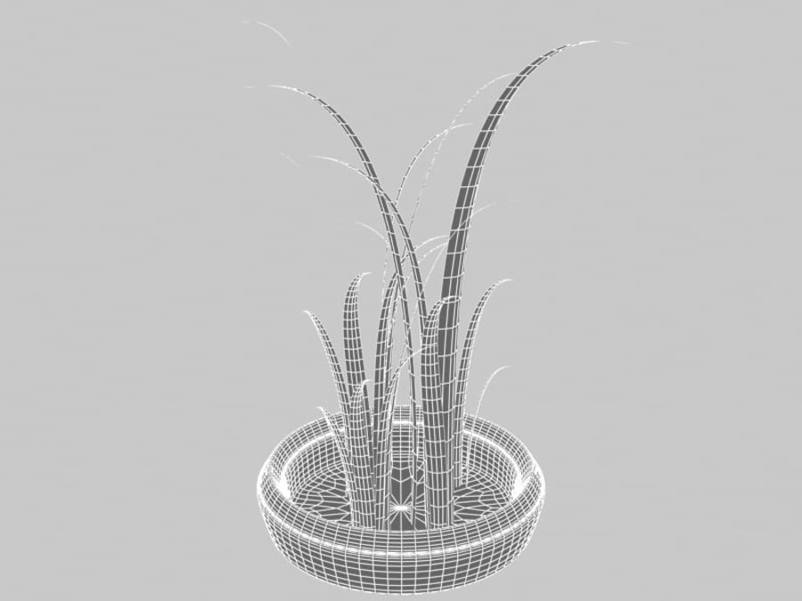 Grass Blades royalty-free 3d model - Preview no. 5