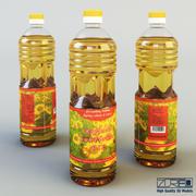 Масляная бутылка 1 литр 3d model