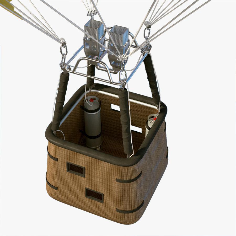 Hot Air Balloon royalty-free 3d model - Preview no. 8