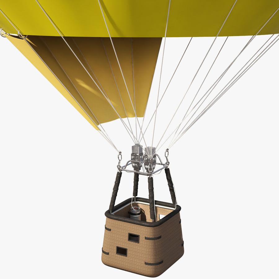 Hot Air Balloon royalty-free 3d model - Preview no. 7