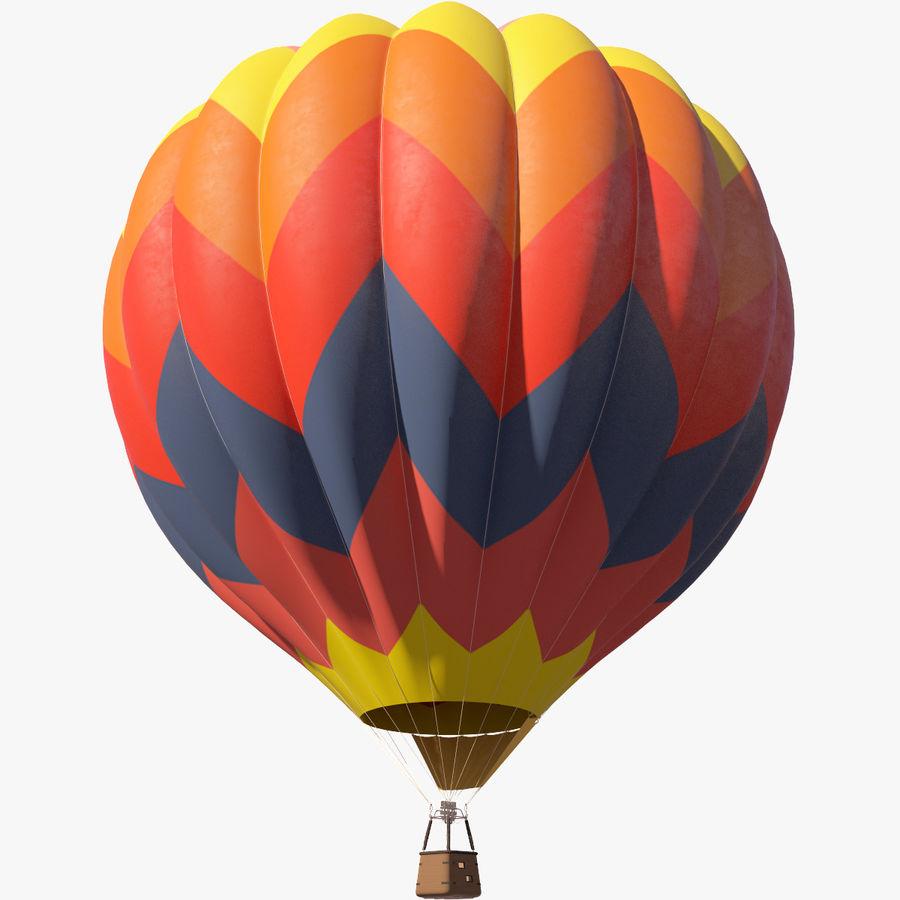 Hot Air Balloon royalty-free 3d model - Preview no. 5
