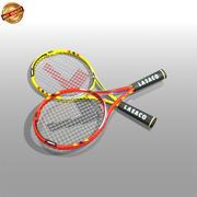 网球拍 3d model