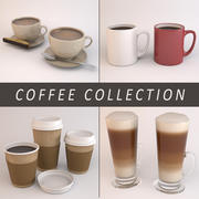 Coffee Collection 3d model