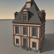 European Building 110 3d model