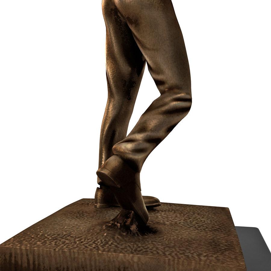 Trofeo femminile del golfista royalty-free 3d model - Preview no. 14