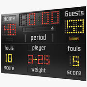 Basketball Scoreboard 3d model