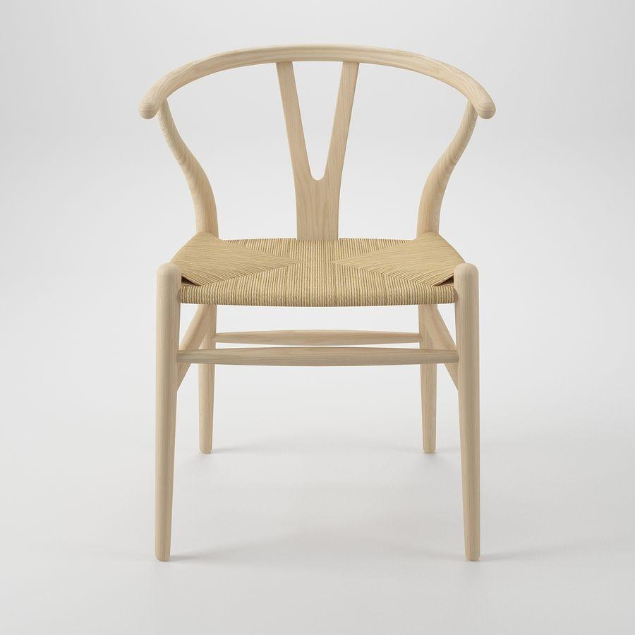 Krzesło Wishborn - Hans J. Wegner royalty-free 3d model - Preview no. 3