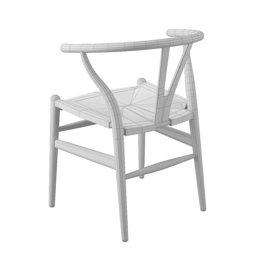 Krzesło Wishborn - Hans J. Wegner royalty-free 3d model - Preview no. 10