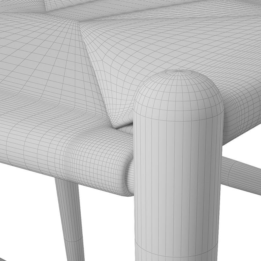 Krzesło Wishborn - Hans J. Wegner royalty-free 3d model - Preview no. 12