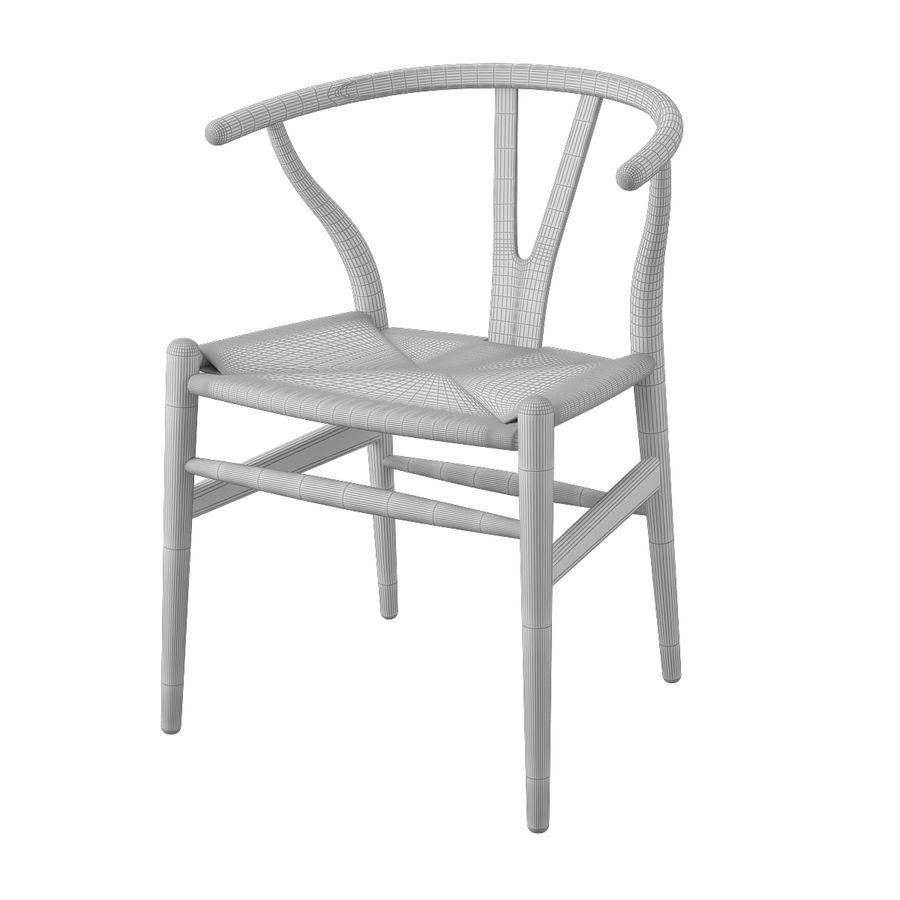 Krzesło Wishborn - Hans J. Wegner royalty-free 3d model - Preview no. 8