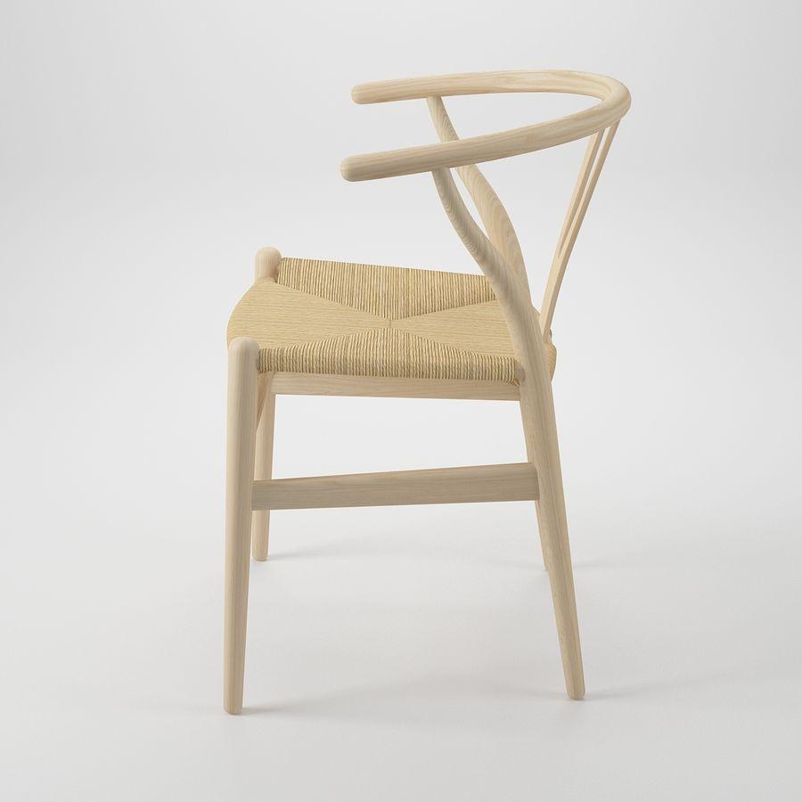 Krzesło Wishborn - Hans J. Wegner royalty-free 3d model - Preview no. 4