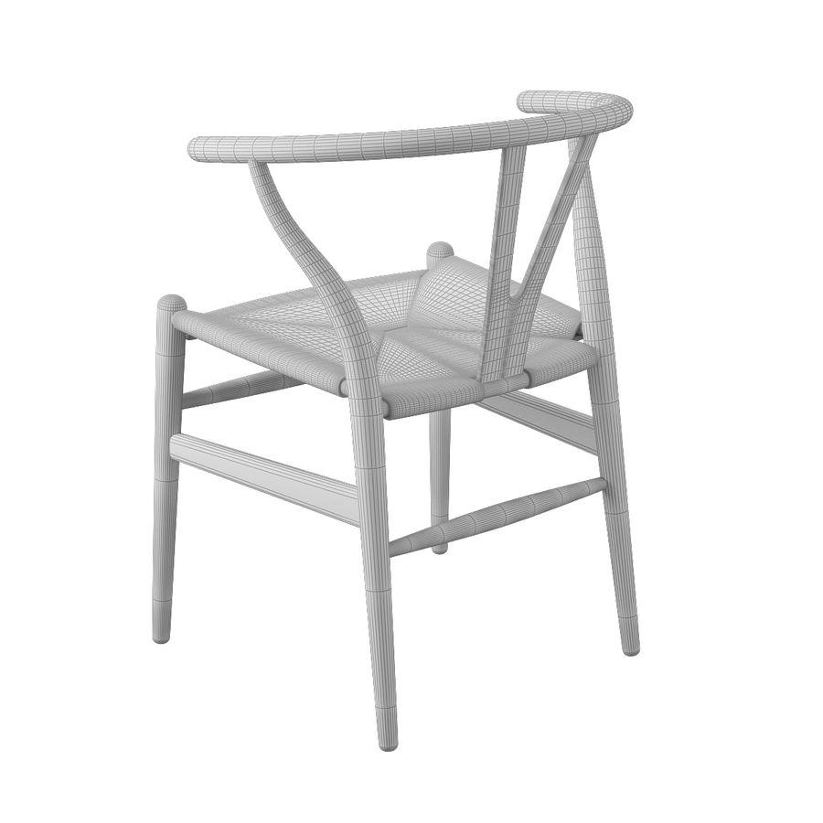 Krzesło Wishborn - Hans J. Wegner royalty-free 3d model - Preview no. 9