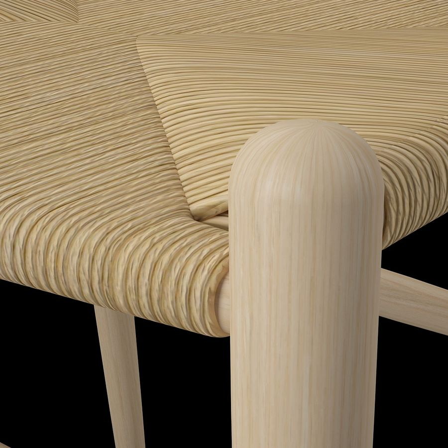Krzesło Wishborn - Hans J. Wegner royalty-free 3d model - Preview no. 11