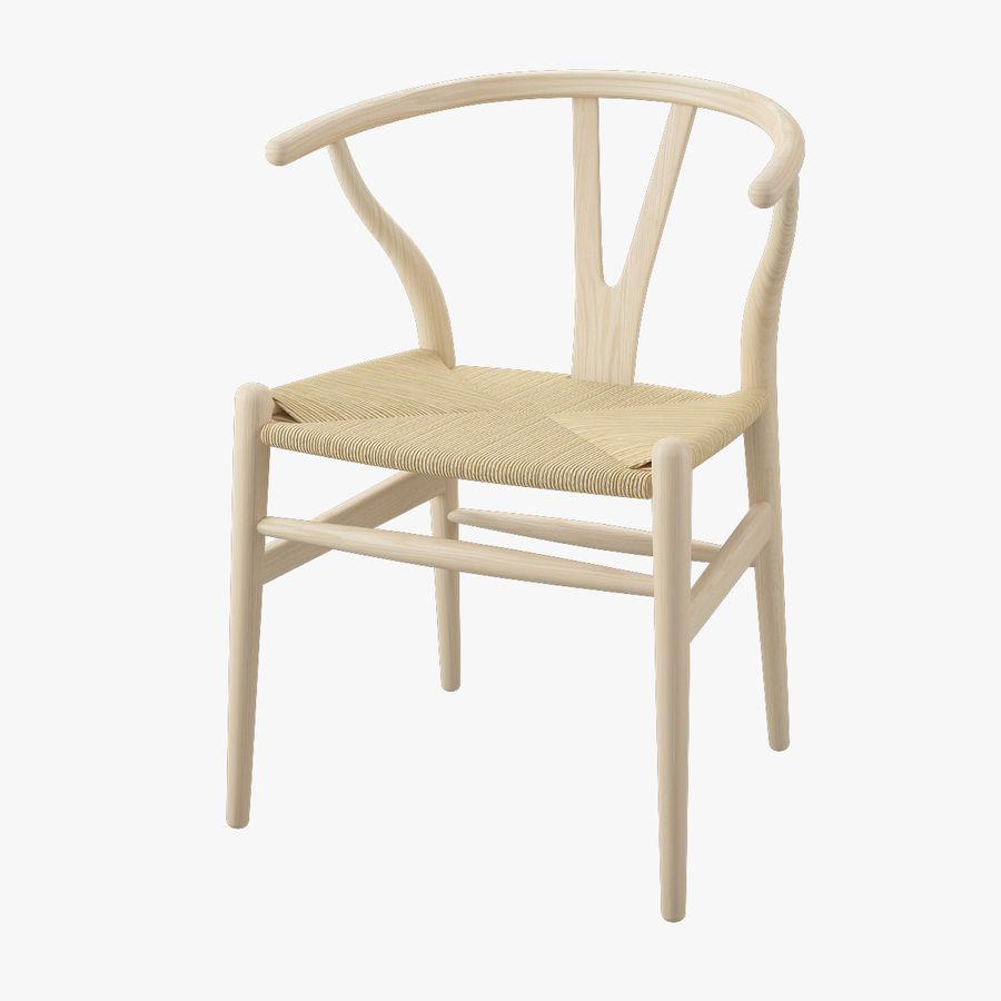 Krzesło Wishborn - Hans J. Wegner royalty-free 3d model - Preview no. 1