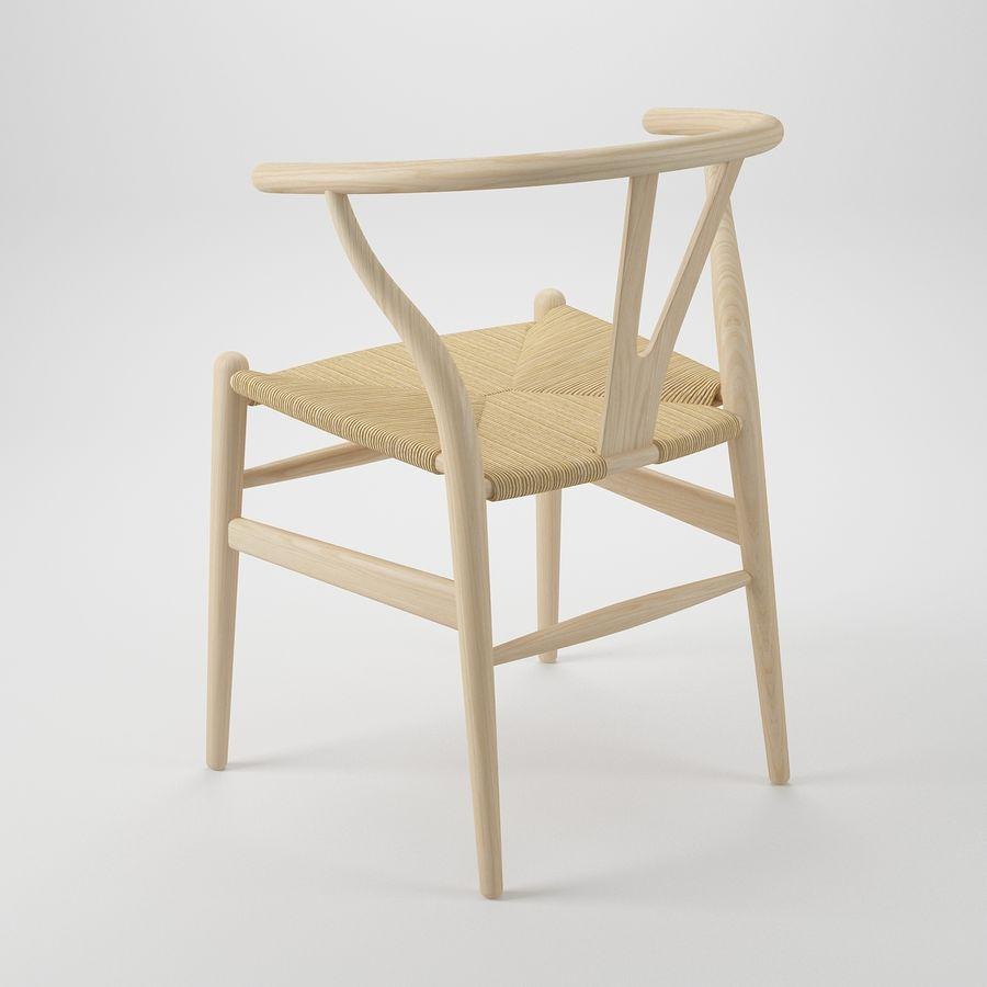 Krzesło Wishborn - Hans J. Wegner royalty-free 3d model - Preview no. 5