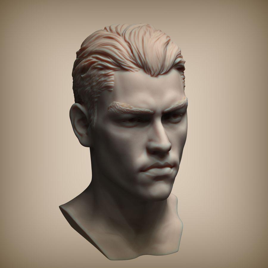 Tyson Ballou royalty-free 3d model - Preview no. 3