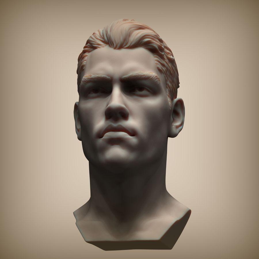 Tyson Ballou royalty-free 3d model - Preview no. 4