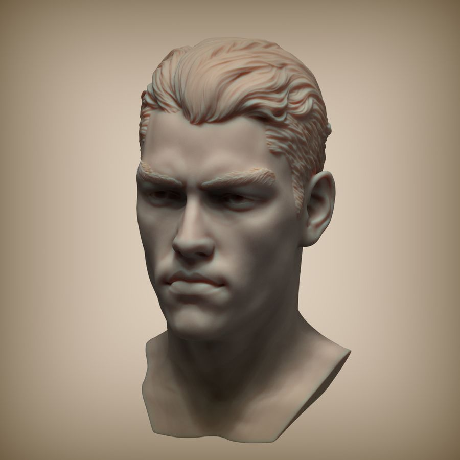Tyson Ballou royalty-free 3d model - Preview no. 8