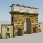 Arch San Martin 3d model