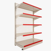 Supermarket Shelf 01 3d model