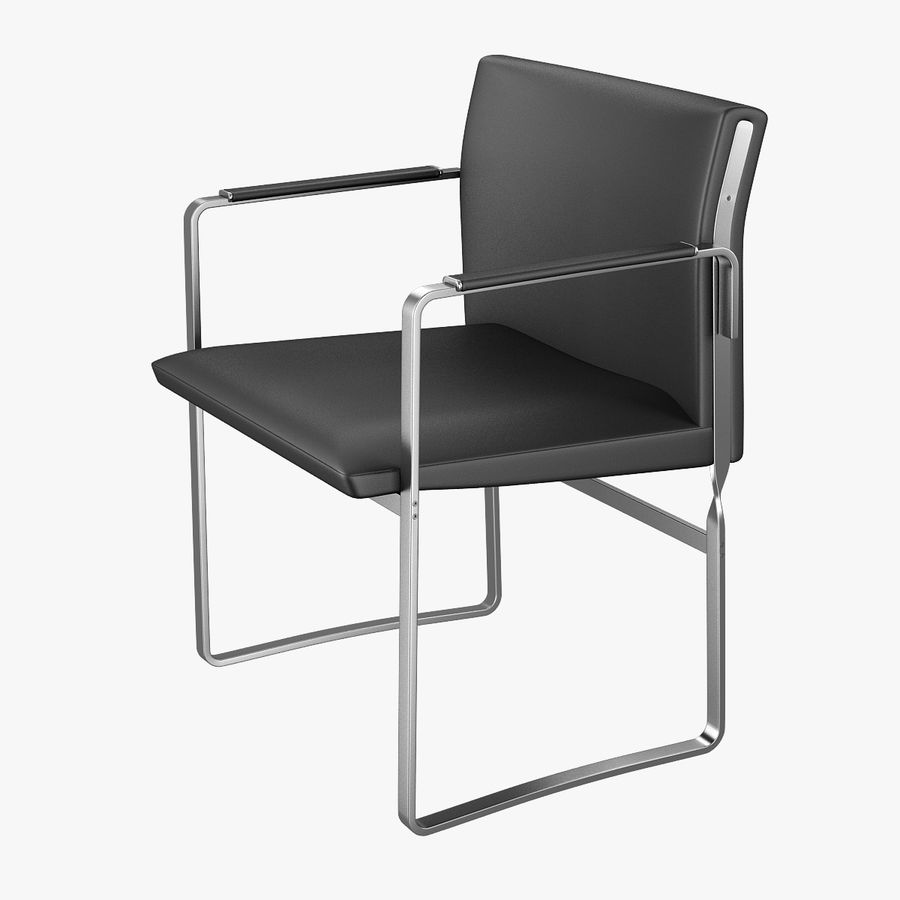 CH111 Hans J. Wegner Chair royalty-free 3d model - Preview no. 1