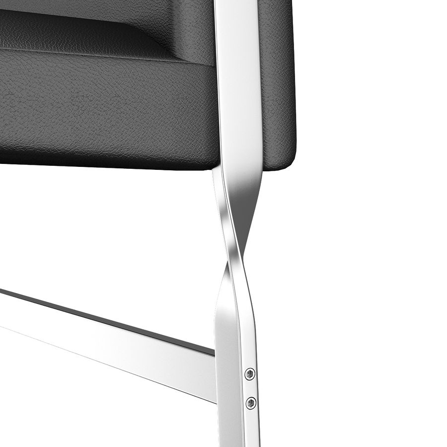 CH111 Hans J. Wegner Chair royalty-free 3d model - Preview no. 15
