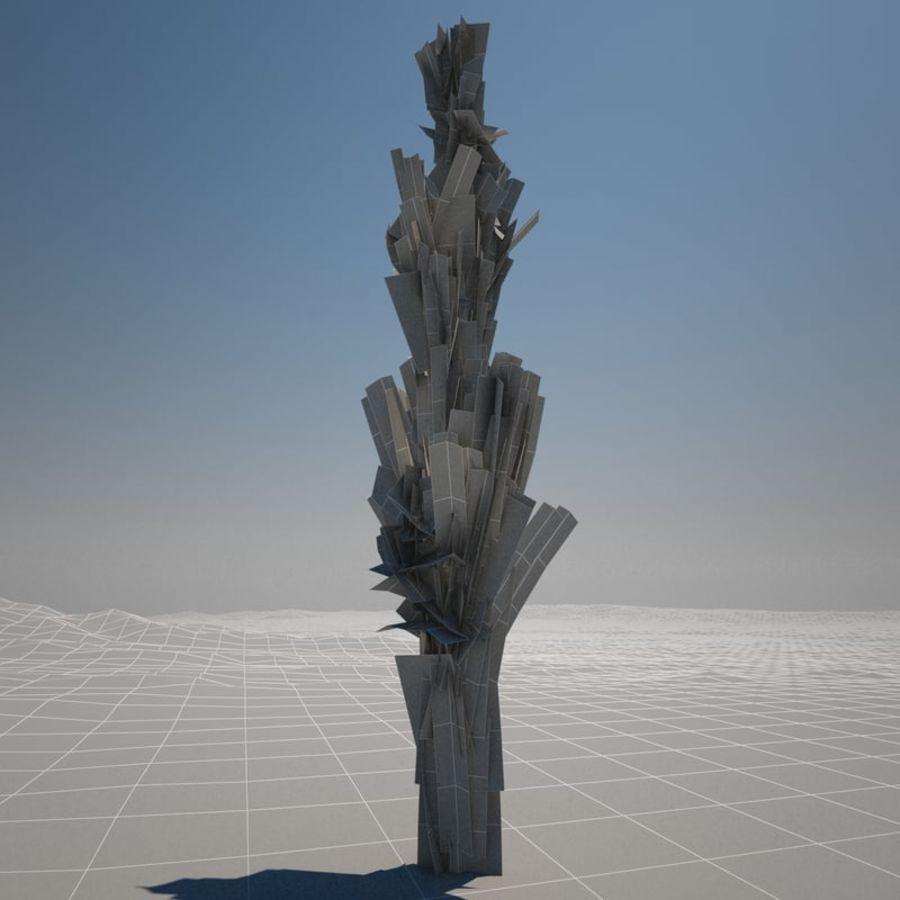 Drzewo cyprysowe royalty-free 3d model - Preview no. 4