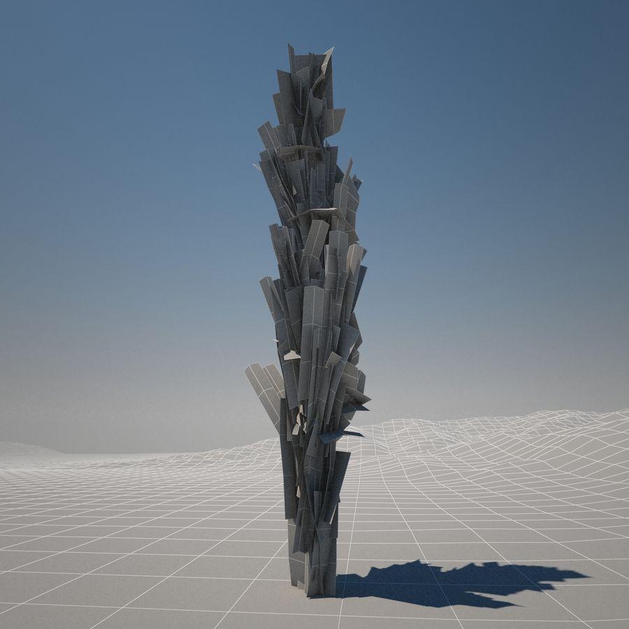 Drzewo cyprysowe royalty-free 3d model - Preview no. 10