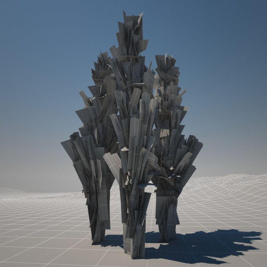 Drzewo cyprysowe royalty-free 3d model - Preview no. 2