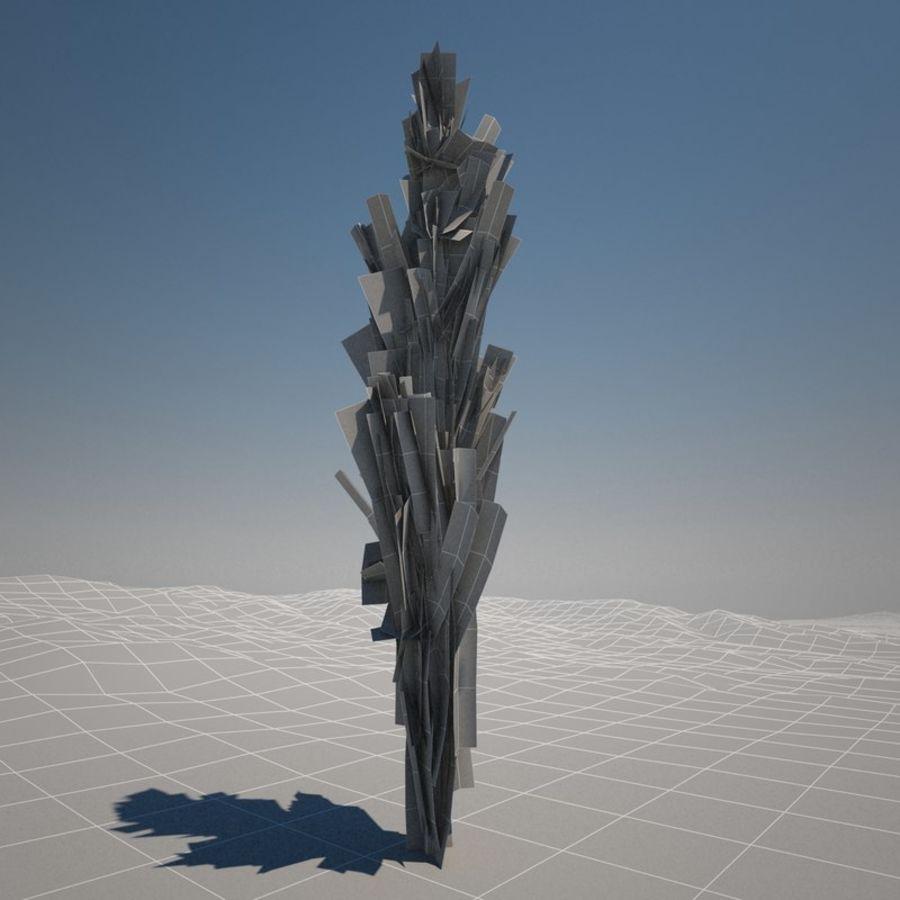 Drzewo cyprysowe royalty-free 3d model - Preview no. 6
