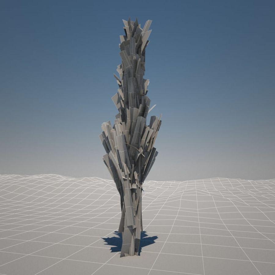 Drzewo cyprysowe royalty-free 3d model - Preview no. 8