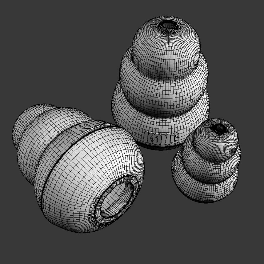 Dog Toys Collection royalty-free 3d model - Preview no. 15