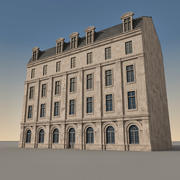 European Building 148 3d model