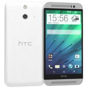 HTC One E8 White 3d model