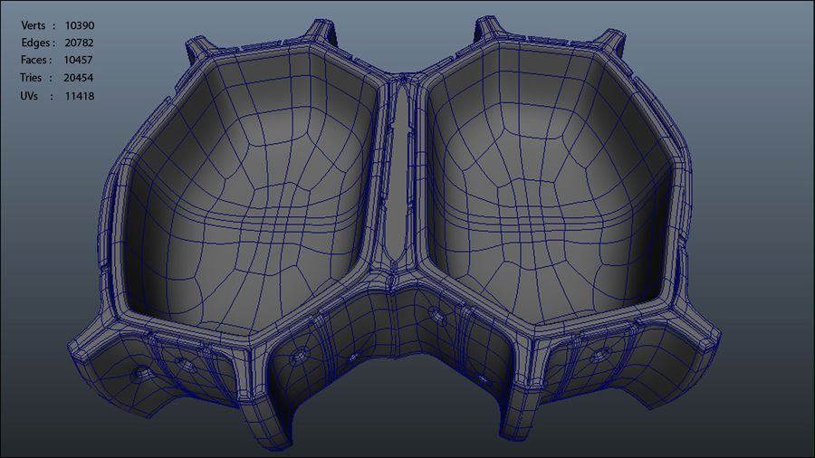 Cell wall royalty-free 3d model - Preview no. 7