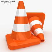 Cone de tráfego 3d model