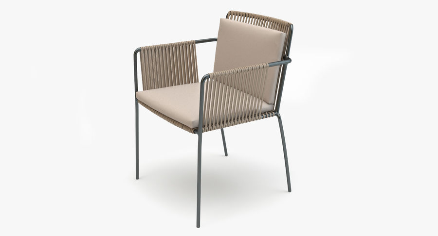 Kettal Net Dining Armchair And Table 3d Model 29 Obj