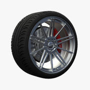 Nitro Flame Wheel 3d model