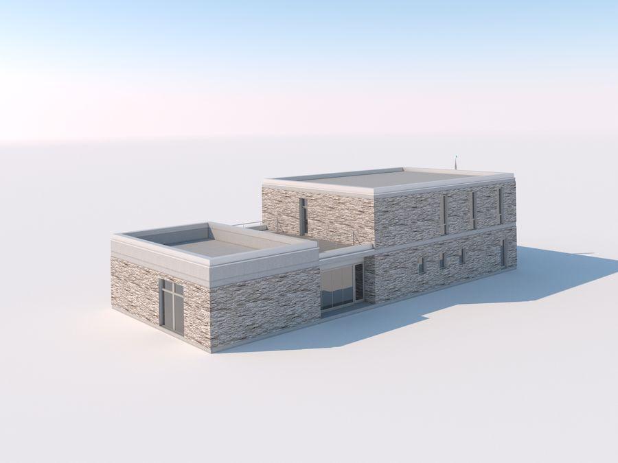 Budynek restauracji royalty-free 3d model - Preview no. 2