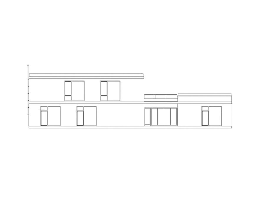 Budynek restauracji royalty-free 3d model - Preview no. 4