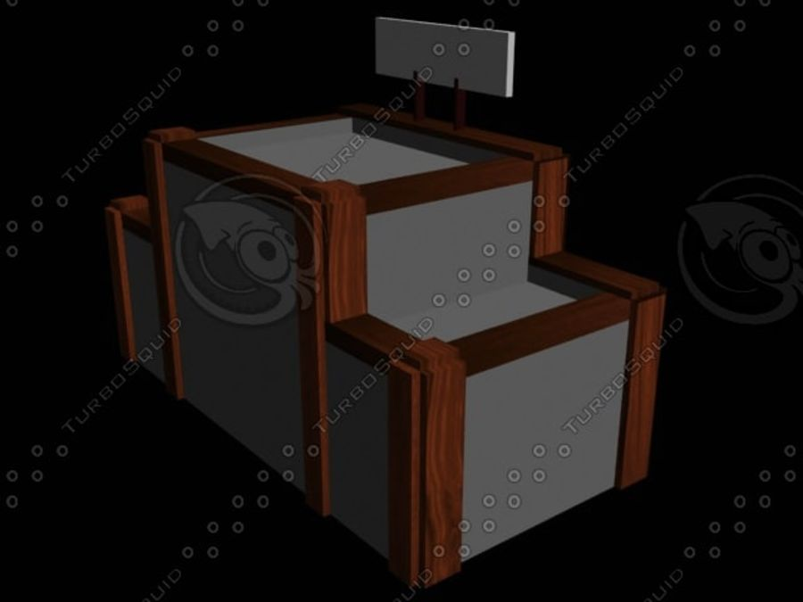 kontor mitt royalty-free 3d model - Preview no. 4