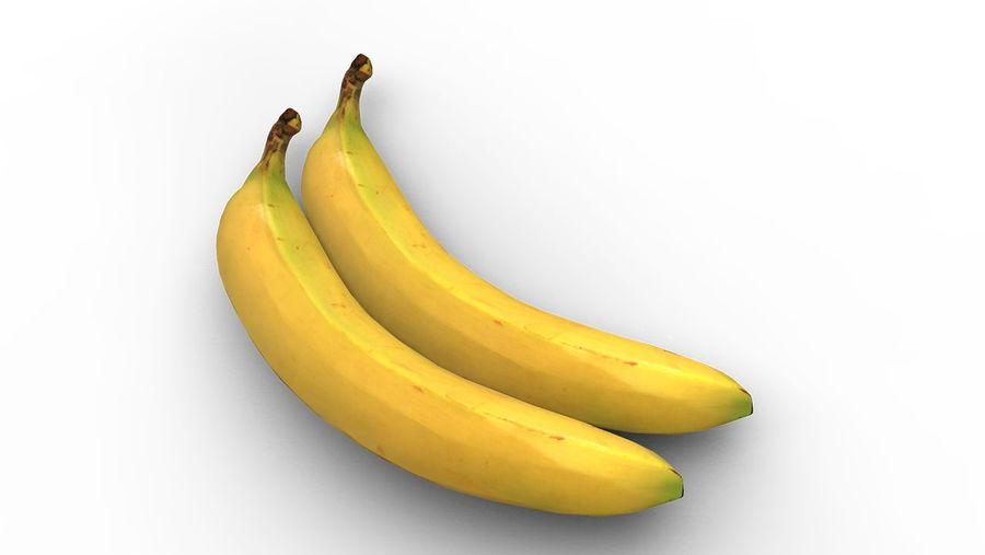 banana royalty-free 3d model - Preview no. 4