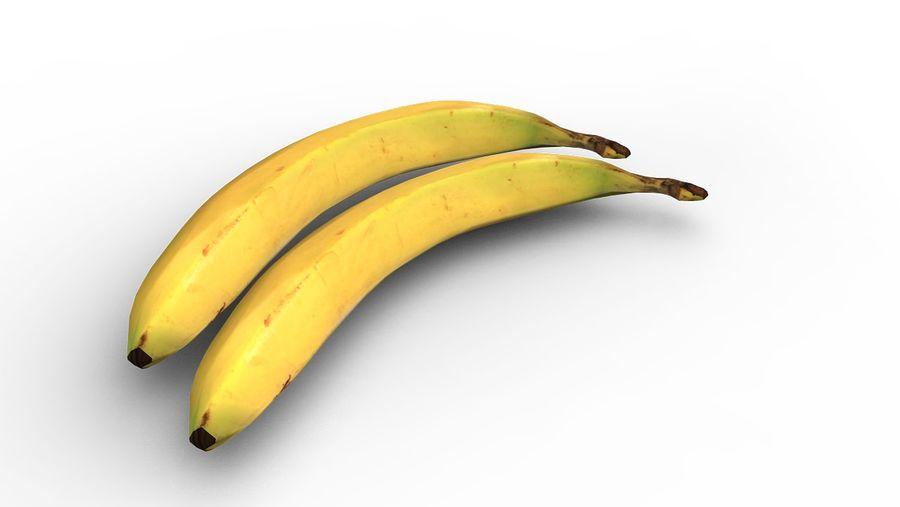 banana royalty-free 3d model - Preview no. 5