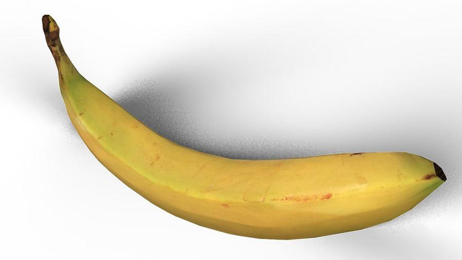 banana royalty-free 3d model - Preview no. 3