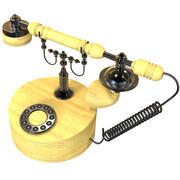 vieux téléphone 3d model