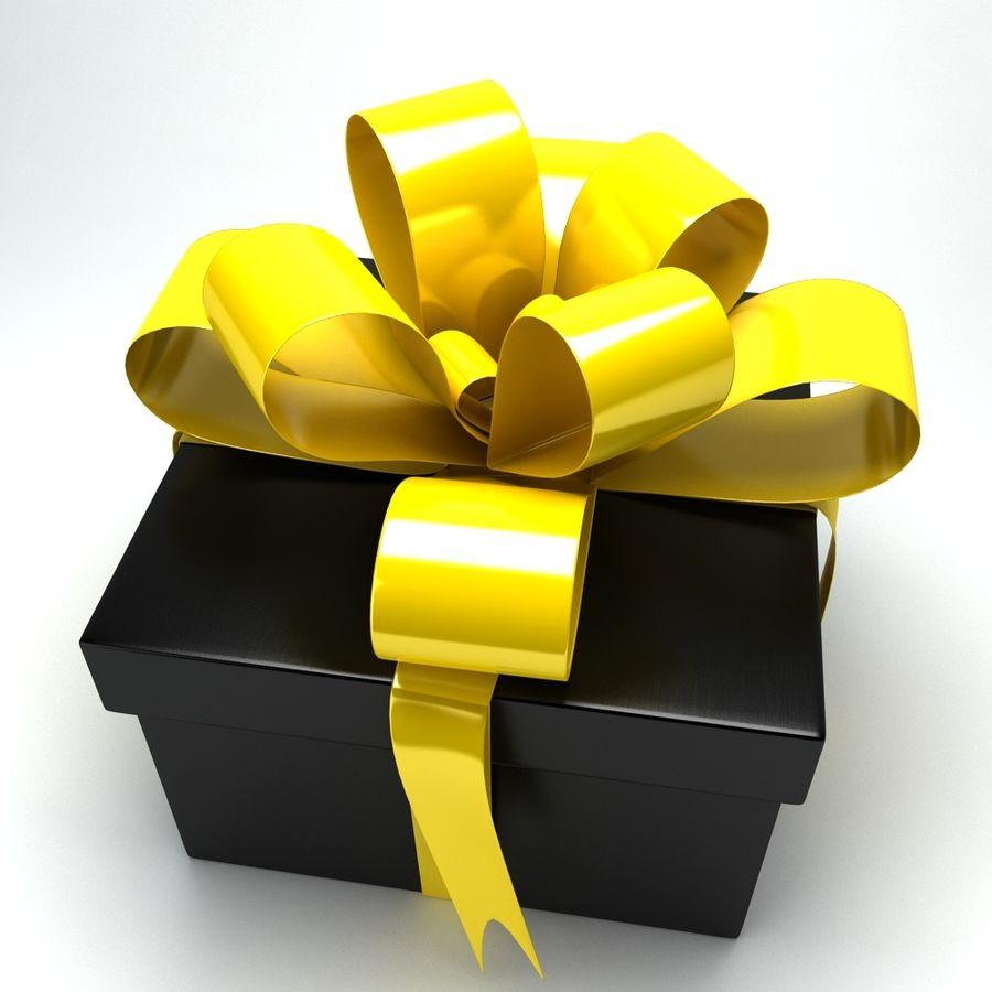 Geschenkbox royalty-free 3d model - Preview no. 8
