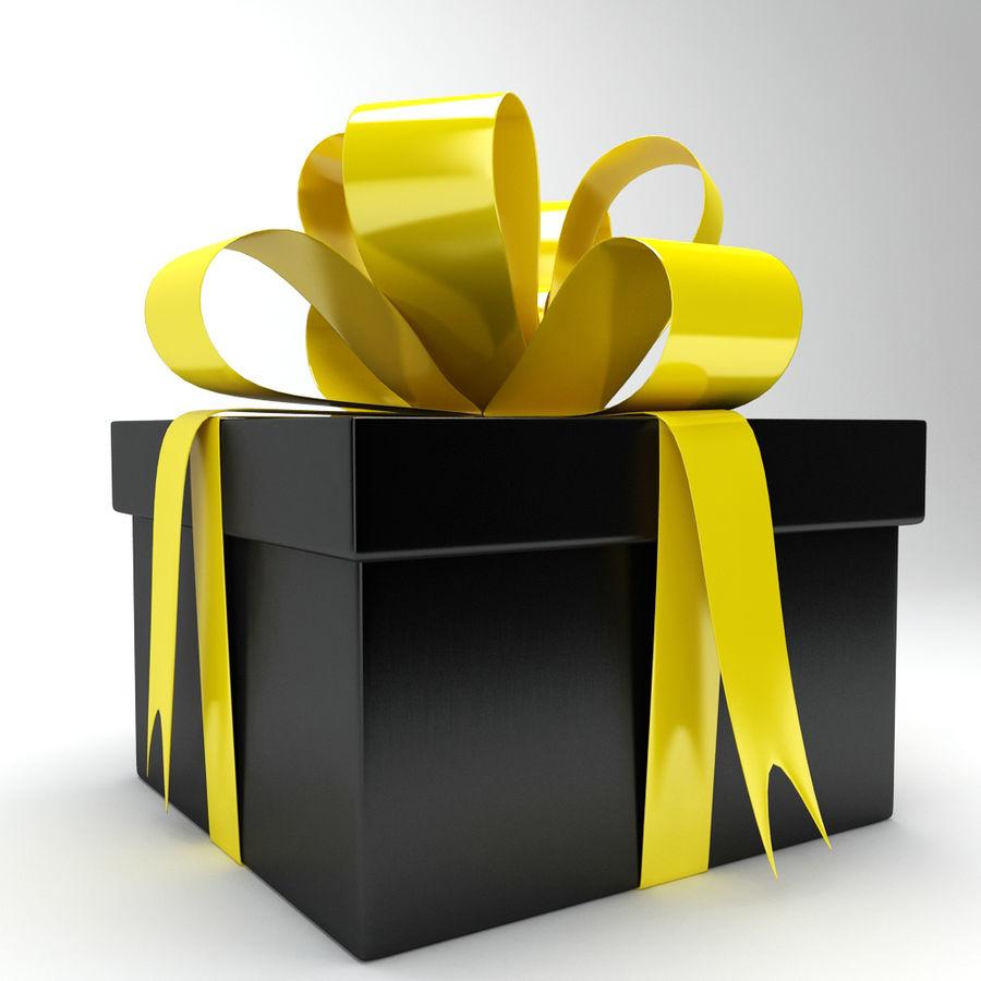 Geschenkbox royalty-free 3d model - Preview no. 7