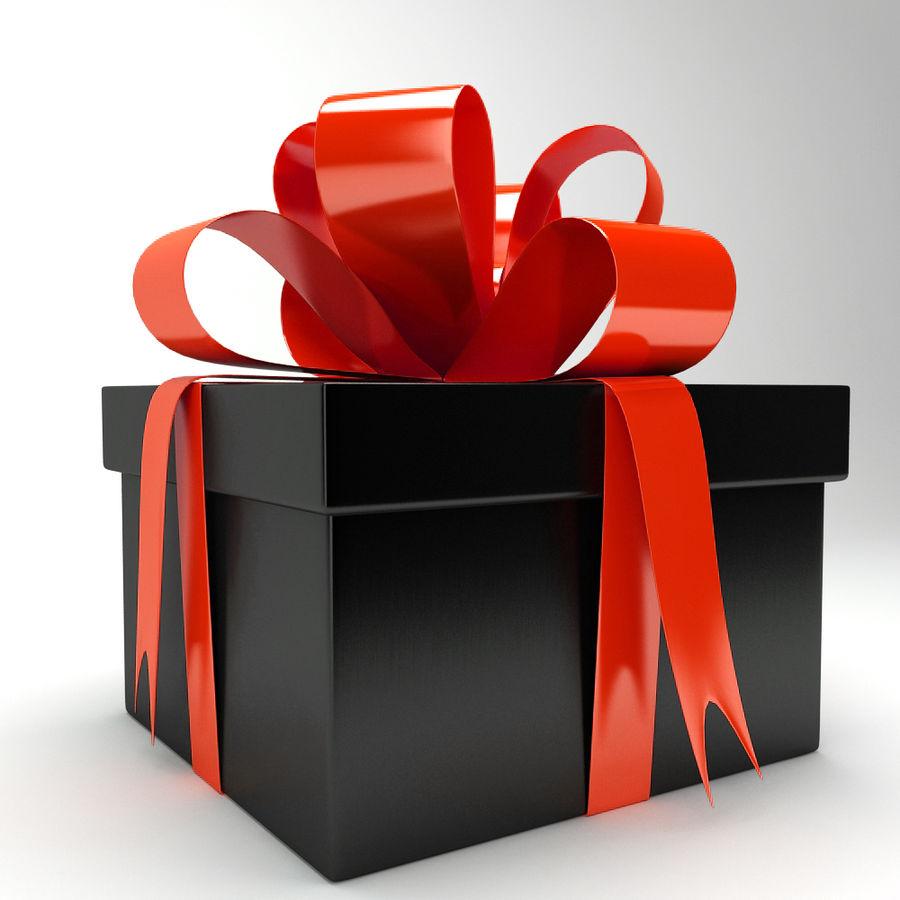 Geschenkbox royalty-free 3d model - Preview no. 9